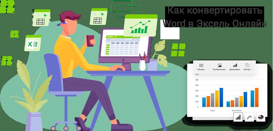 word в эксель онлайн (перевод документа, конвертация)